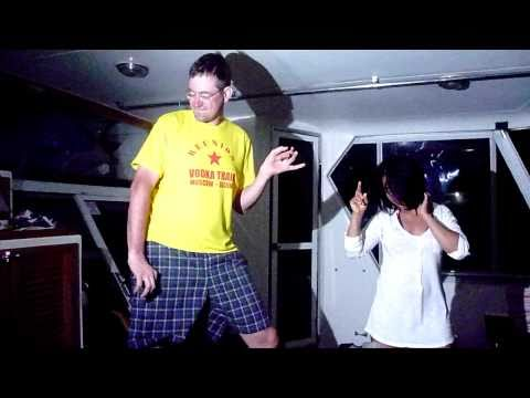 "Vodkaktrain Reunion Party | Guns`n`Roses Dance on Russian Boat ""Aquila"""