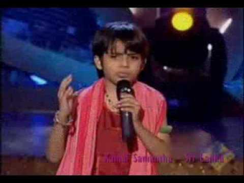 Sa Re Ga Ma Pa Lil Champs 2009 Tanmay Chaturvedi