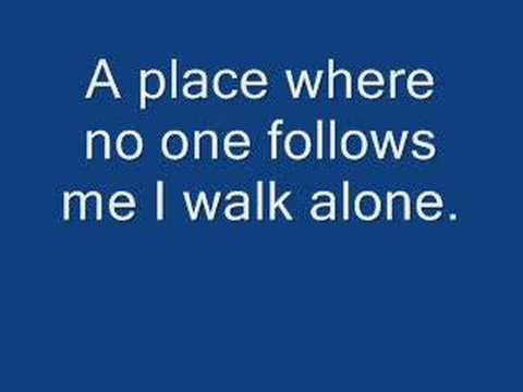 I Walk Alone - Saliva Lyrics