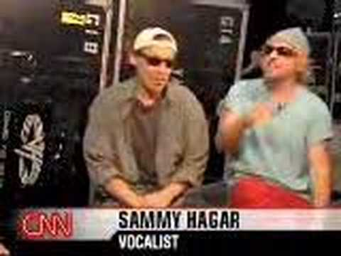 Alex Van Halen & Sammy Hagar interview