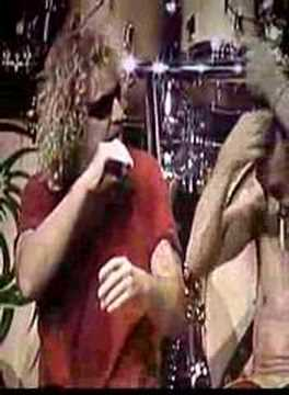 Sammy Hagar and Eddie Van Halen