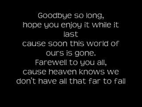 Saving Abel - Goodbye