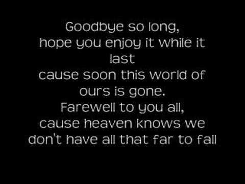 Saving Abel - Goodbye
