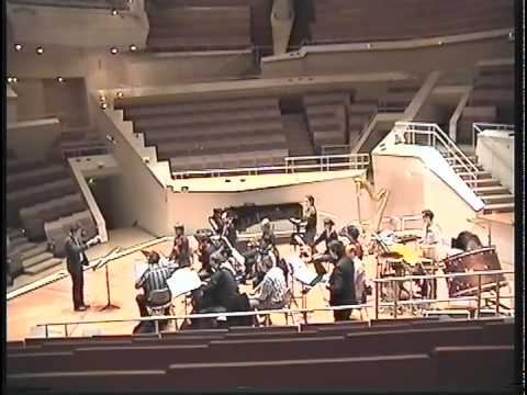 "Vykintas Baltakas conducts ""Gehen"" (2006) by Juliane Klein"