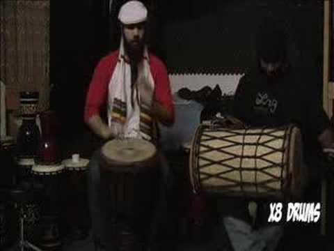 Sokou African Rhythm on Djembe - Brotha Sean