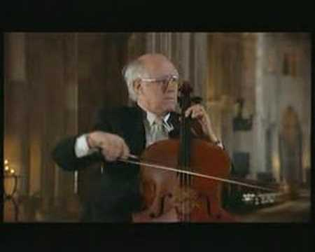 Rostropovich - Bach Cello Suite No.1 - Allemande
