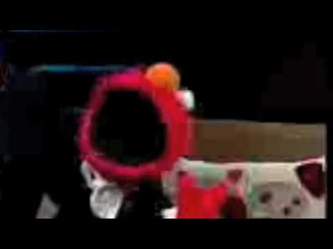 ELMO AND [PHILLY RAPPER] SMILEY JONEZ ON SESAME STREET LITTLE CHILDREN LISTEN UP