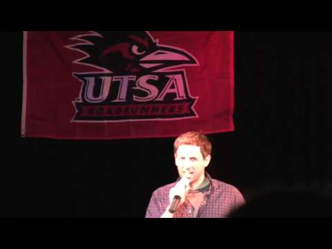 Seth Meyers from SNL at UTSA Part 3 of 7