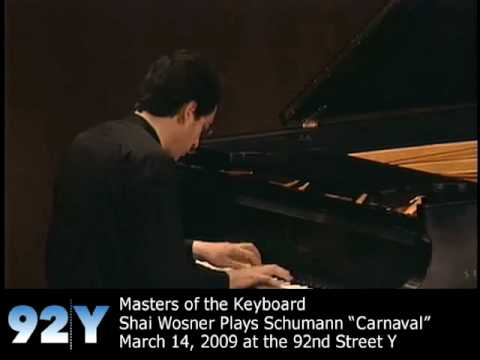 "Masters of the Keyboard: Shai Wosner - Schumann: ""Carnaval"""