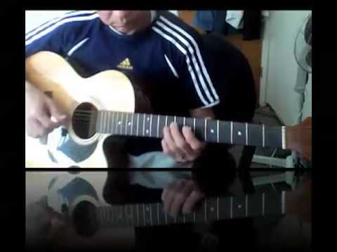 kahit maputi na ang buhok ko..by Rey Valera..an acoustic guitar arrangement