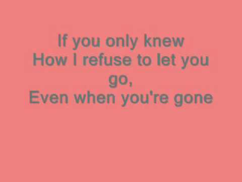 Shinedown; If you only knew [with lyrics]