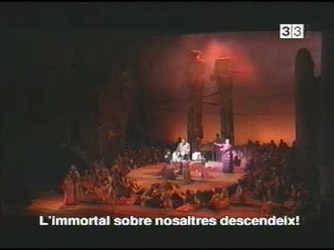 Samson et Dalila - PART 17 - Act 3 FINAL OPERA - Barcelona - Liceu 2001