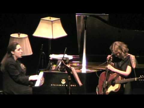 "Tift Merritt & Simone Dinnerstein ""I Can See Clearly"" Jan. 21, 2011 Durham, NC"