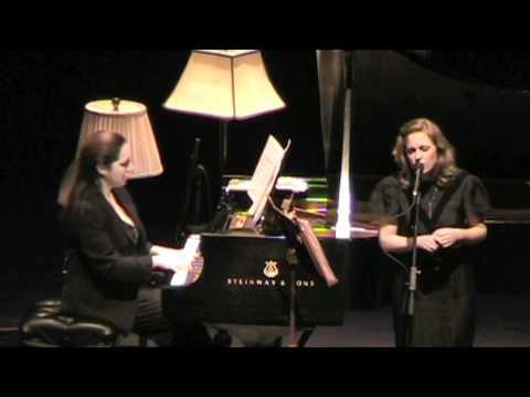 """Tift Merritt & Simone Dinnerstein """"Night"""" Jan. 21, 2011 Durham, NC"""