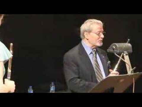 Sir James Galway Masterclass - Breathing