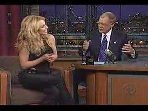 Britney Spears - Letterman Interview [2001]
