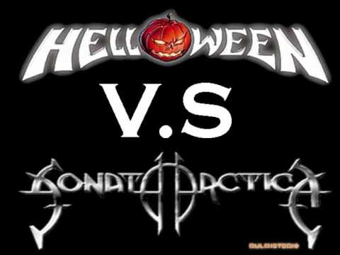 Helloween vs Sonata Artica [I Want Out ] Cover vs Original rulmisterio