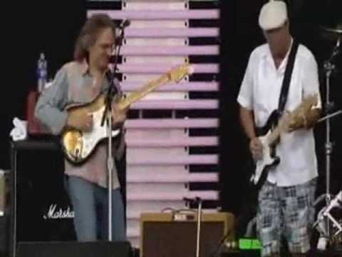 Sonny Landreth ft Eric Clapton - Hell At Home @ Cross Roads Guitar festival 2007