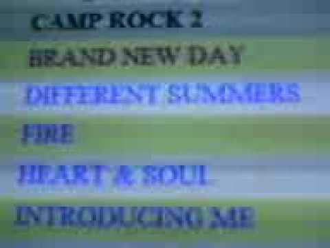 CAMP ROCK 2 FINAL JAM NEW CD SONGS!!!