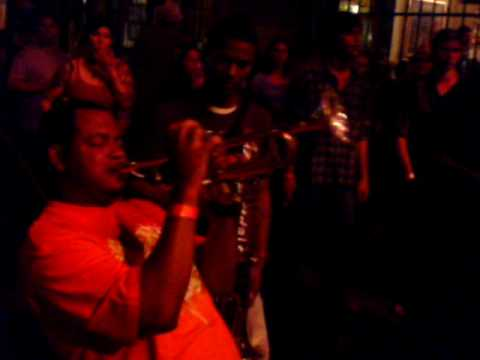 New Orleans Trumpet Battle Marcus Vs Noel