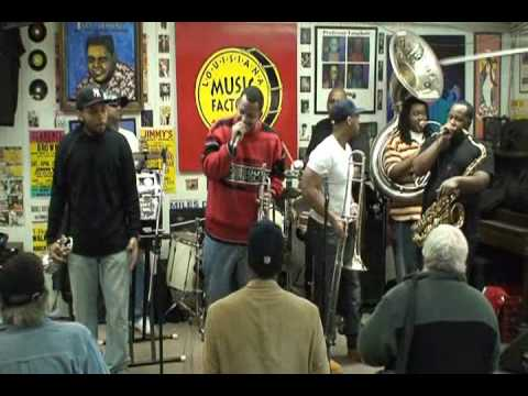 Soul Rebels Brass Band @ Louisiana Music Factory 2010