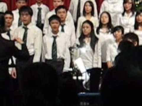 A Voice From a Dream - Killarney Winter Concert `08 - Grade 8 Choir