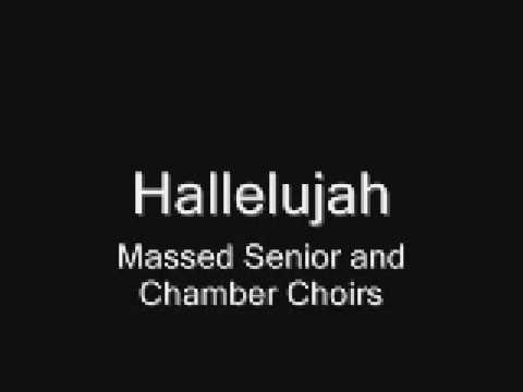 Hallelujah - Killarney Winter Concert `08 - Massed Senior and Chamber Choirs