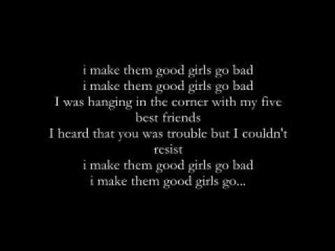 Good Girls Go bad- Cobra Starship ft Leighton Meester w/ lyrics on screen (Studio Quality)
