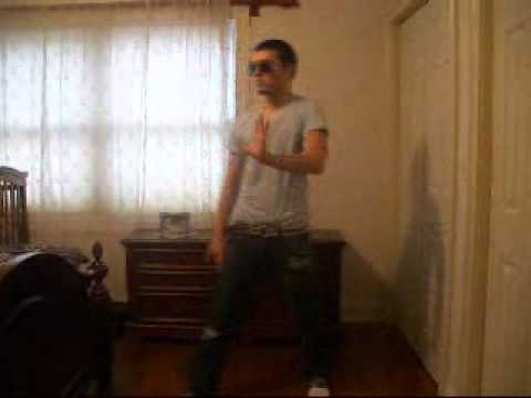 "Me Dancing to Taio Cruz- Dynamite ""Evil Madd Chadd"" Robot Freestyle"