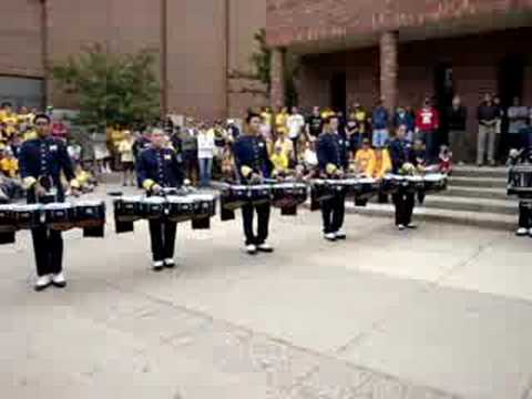 U of M Pregame Step Show