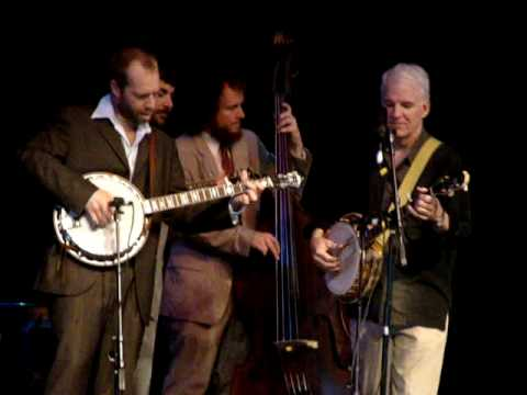 The Steep Canyon Rangers and Steve Martin at Mtn Song Fest