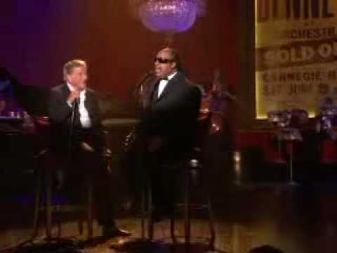 Tony Bennett and Stevie Wonder - For Once in my life live