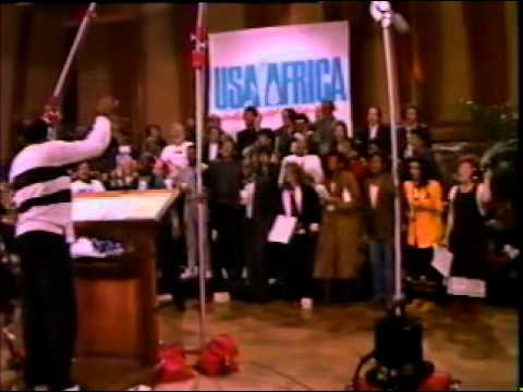 We are the World - Michael Jackson, Ray Charles, Diana Ross, Bob Dylan, Bette Midler, Stevie Wonder