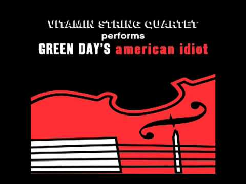 Boulevard of Broken Dreams Vitamin String Quartet tribute to Green Day