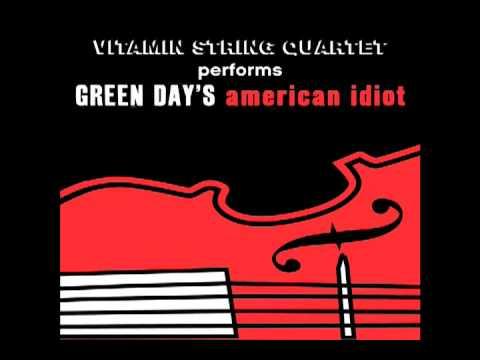 Boulevard of Broken Dreams Vitamin String Quartet tribute to Green Day