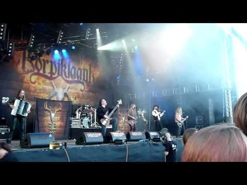 Korpiklaani - Cottages and Saunas (live) @ Summer Breeze Festival 2010 (HD)