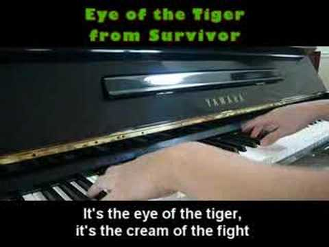 Eye of the Tiger - Survivor (Piano)