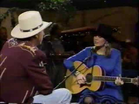 Suzy Bogguss and Jerry Jeff Walker - Night Rider`s Lament (live)