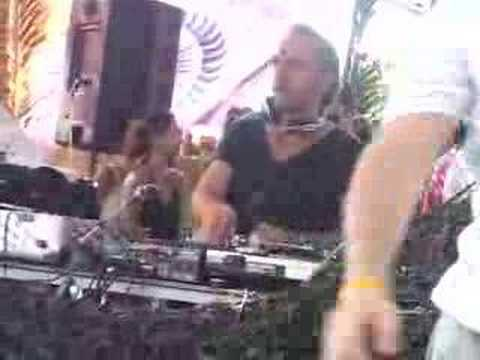 Sven Vath rolling his face off