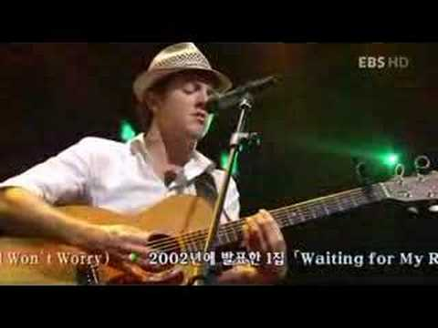 Jason Mraz -The Remedy(I Won`t Worry) (live)