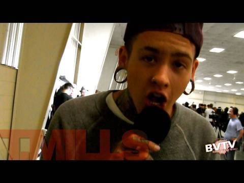 "T. Mills Interview at Warped Tour 2010 - BVTV ""Band of the Week"" HD"