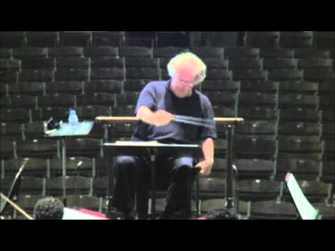 Inside the TMC: Tanglewood Music Center Orchestra Rehearsal with James Levine