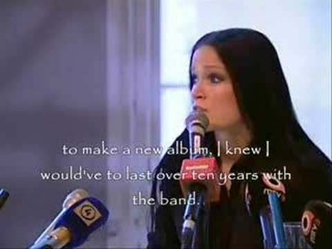 Tarja Turunen press conf (with SUBTITLES) / post NW break up