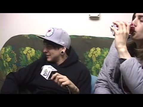 Bring Me The Horizon interview 3-09 at the Vic by TV6