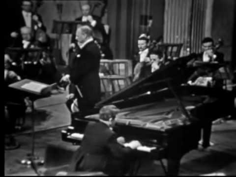 Tchaikovsky piano concerto No. 1 played by Emil Gilels
