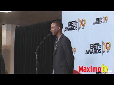 TEVIN CAMPBELL on Michael Jackson at 2009 BET Awards Press Room