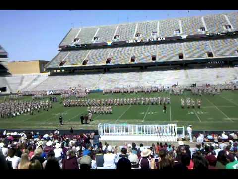 Texas A & M Parents Weekend 2011 / Corps of Cadets