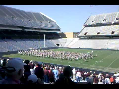 Texas A & M Parents Weekend 2011. Fighting Aggies Marching Band