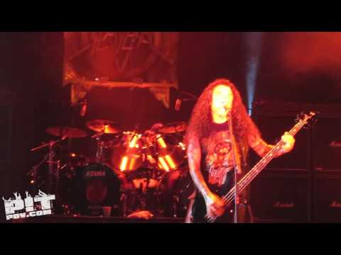 SLAYER ? Born of Fire ? Rockstar Mayhem Fest 2009 ? Dallas, Texas ? PIT POV HD