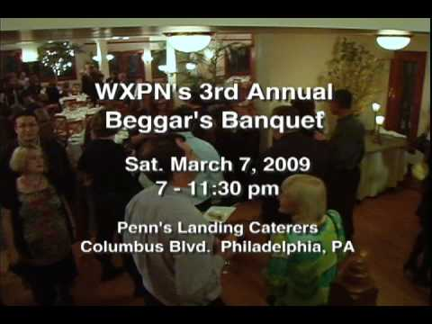 WXPN 3rd Annual Beggers Banquet 2009